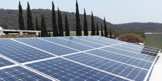 construccion de sistema fotovoltaico
